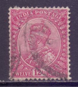 India Scott 92 - SG183, 1911 George V 12a used