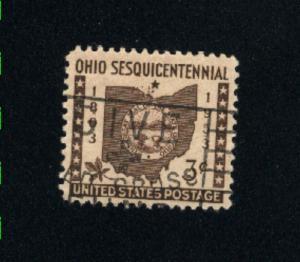 USA #1018  5  used 1953 PD .08