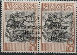Ionian SC N5 1941 Mint SCV$ 55.00