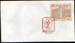 MEXICO 1570 FDC 175th Anniv of the Act of Independence F-VF