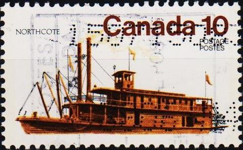 Canada. 1976 10c S.G.851 Fine Used