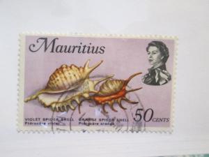 Mauritius #350 used wmkd 314 upright