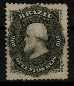 [P02] BRAZIL / 1866, MI #28, MH, CV 150€
