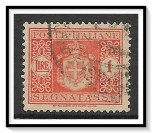Italy #J60 Postage Due Used