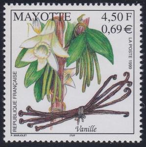 Mayotte 130 MNH (1999)