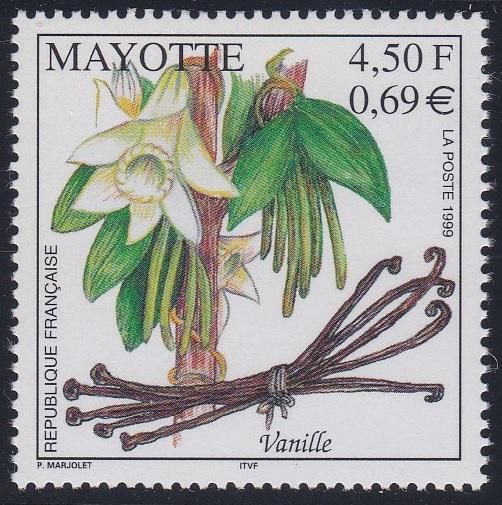Mayotte 130 MNH (1999)