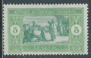 Senegal, Sc #82, 5c MH