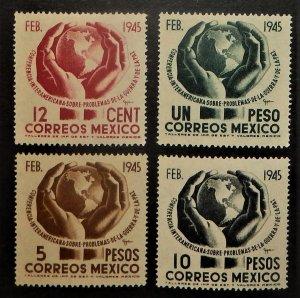 Mexico 792-95. 1945 Inter-American Conference