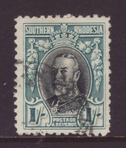 1931 Southern Rhodesia 1/- Perf 12 Fine Used SG23