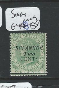 MALAYA SELANGOR (P0510B) 2C/24C   QV  SG 44  MOG