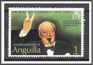 Anguilla #193 Winston Churchill MH