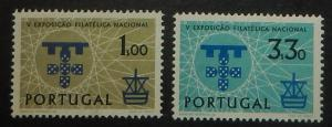 Portugal 868-69. 1960 National Philatelic Exhibition