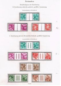 Switzerland Stamp tête-bêche head-to-tail STAMPS COLLECTION LOT  #4