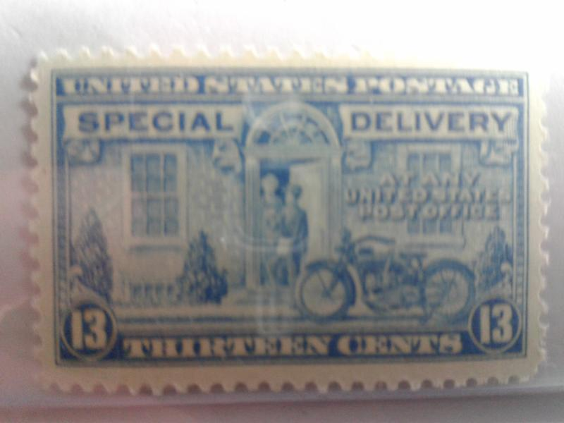 SCOTT # E 17 SPECIAL DELIVERY MINT NEVER HINGED GEM !!