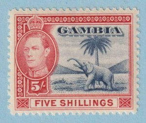 GAMBIA 142  MINT HINGED OG * NO FAULTS VERY FINE !