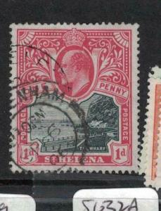 St Helena SG 56 See English Cancel VFU (6duw)