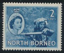 North Borneo SG 373 SC# 262 MVLH   see details