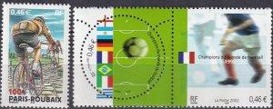 France #2890-1  MNH CV $4.15 (Z7907)