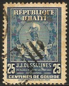 Haiti 1947 Scott# 382 Used