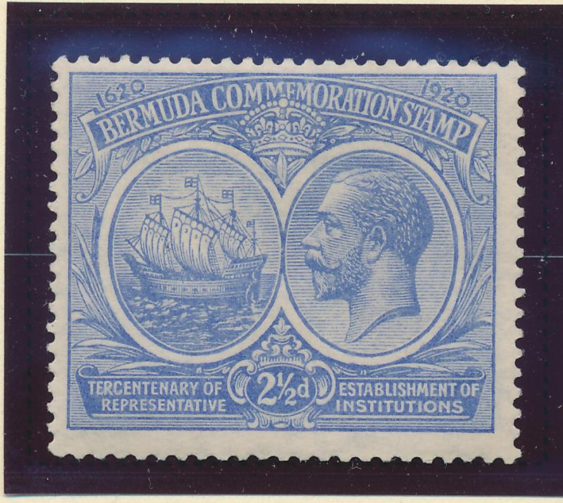 Bermuda Stamp Scott #68, Mint Hinged