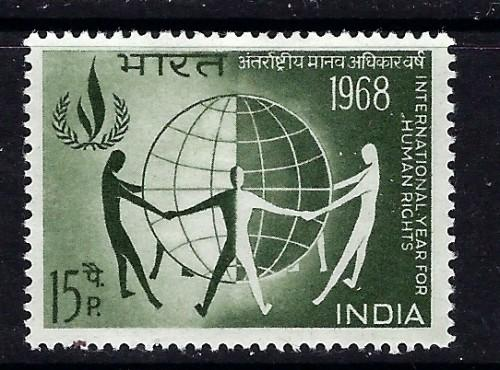 India 461 Hinged 1968 issue