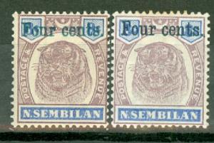 Malaya Negri Sembilan 15-16 mint CV $1413.50