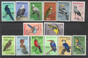Botswana 19-32 MNH Birds SCV62.40