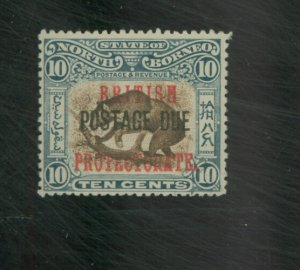 North Borneo #J27 MINT F-VF OG HR Cat $130