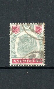 Malaysia - Negri Sembilan 1896 25c FU CDS