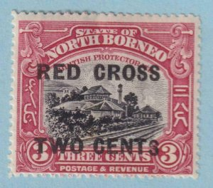NORTH BORNEO B16 SEMI-POSTAL  MINT HINGED OG * NO FAULTS EXTRA FINE!