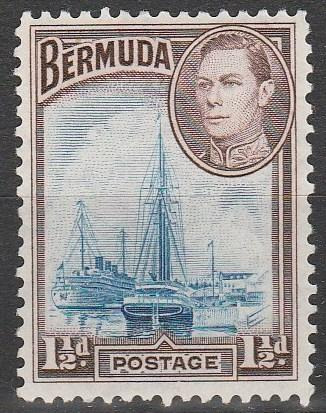 Bermuda #119  F-VF  Unused  CV $4.75  (A8125)