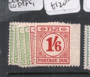 Fiji Postage Dues SG D11-5, D17-18 MNH (2dlj)