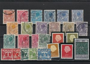 Netherlands Mounted Mint & Used Stamps ref R 16407