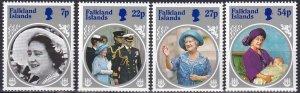 Falkland Islands #420-23  MNH CV $3.35 (Z8277)