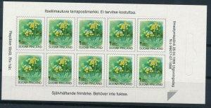 [I2664] Finland 1998 Flowers good sheet very fine MNH