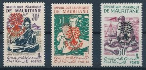 [I543] Mauritania 1962 Refugees good set of stamps very fine MNH $35