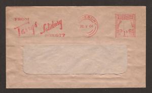 Southern Rhodesia, 1964 1p Meter Mail, Tarrys Advert.