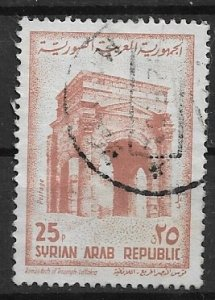 Syria Srien Arab Rep  stamp issue  used