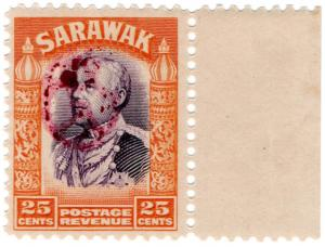 (I.B) Sarawak Revenue : Japanese Occupation OP 25c