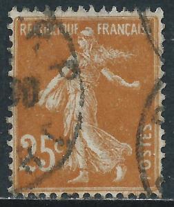 France, Sc #169, 25c Used