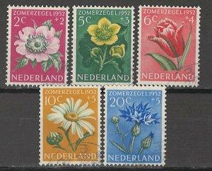 COLLECTION LOT # 5697 NETHERLANDS #B238-42 1952 CV+$13