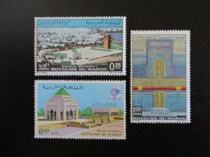 Morocco #245-47 Mint Never Hinged (L7H4) WDWPhilatelic