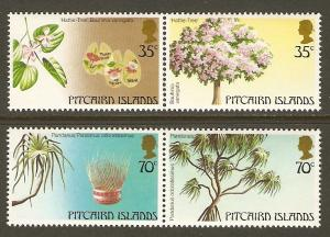 Pitcairn Islands #229-30 NH Trees (2 PAIRS)