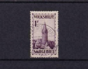 saar 1932 veiws  used 1f stamp cat £65+  ref r15165