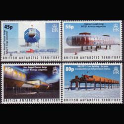 BR.ANTARCTIC TERR. 2005 - Scott# 357-60 Station Set of 4 NH