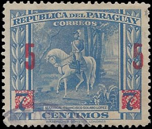 Paraguay # 414 1945 Used