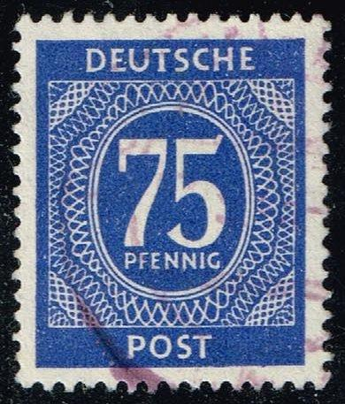 Germany #553 Numeral; Used (0.25)