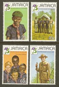 Jamaica #528-31 NH Scouting