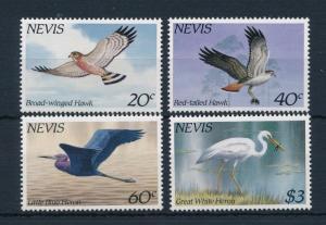 [52969] Nevis 1985 Birds Vögel Oiseaux Ucelli Hawk MNH