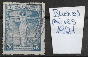 Buenos Aires Argenitinia - used   1921
